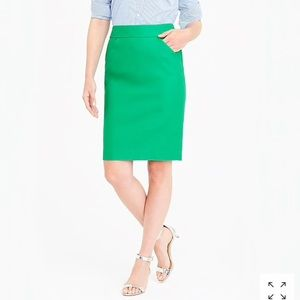 The Limited Skirts - Green pencil skirt- the limited